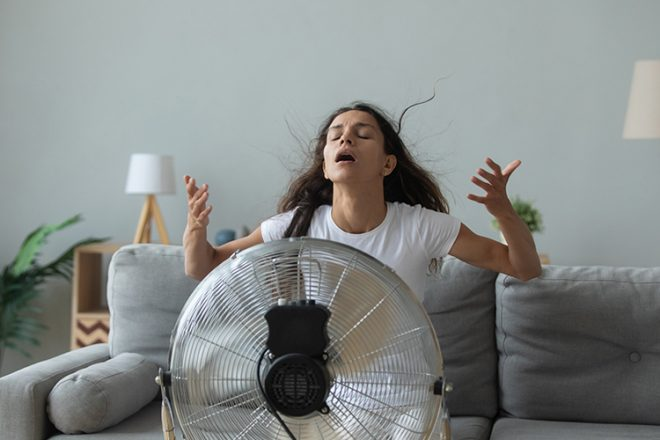 Nie wieder: Ventilator huldigen